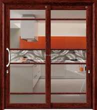 Top quality double glazed aluminium hanging sliding door for the villa/living/hotel/guesting room