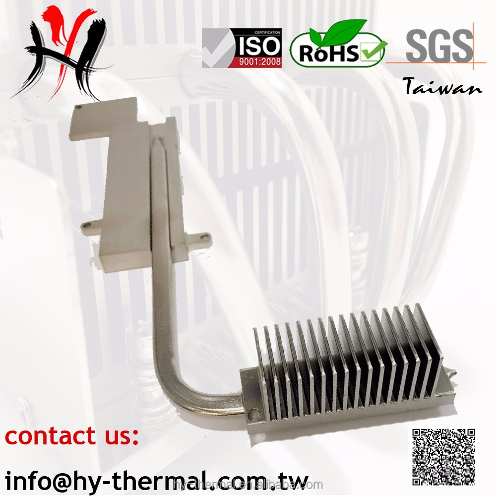 High performance custom made heat pipe Laptop oem cpu cooler