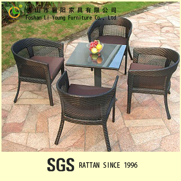 High Quality Cafeteria Modern Style Comfortable Wicker ...