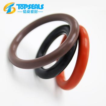 Mechanical Parts Brown Rubber Viton O Rings - Buy O Rings,Viton O ...