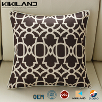 The design of individual character pattern line cushion cover