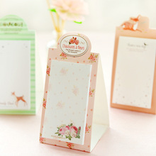 Creative Desk Standing Diary Cute Kawaii Paper Stickers Sheet Scrapbooking Sticky Notes Note Memo Pad Post It Korean Stationery