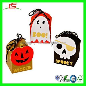 Leuke Halloween Traktaties.N658 Kleine Halloween Behandelen Box Custom Partij Deco Traktatie Dozen En Zakken Leuke Halloween Behandelen Doos Voor De Partij Buy Kleine Partij