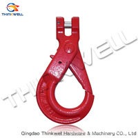 G80 Alloy Steel Lifting Chain Rigging/Clevis Self Locking Hook
