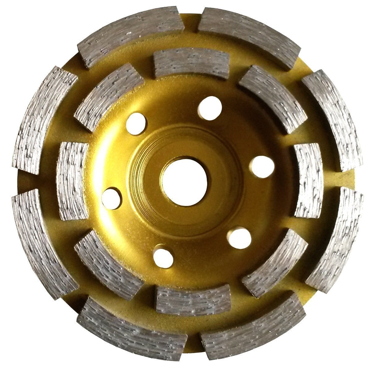 4-1//2 DIAMOND GRINDING CUP WHEEL  50//60 GRIT DRY SHAPING SMOOTHING CONCRETE