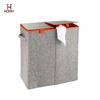 Factory Supply Superior Quality Best Price Full Customed Felt Double Laundry Hamper