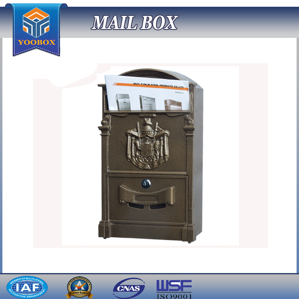 yoobox mailbox to mailbox handmade antique postbox granite letters box