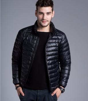 Men casual warm Jackets solid thin breathable Winter Jacket Mens outwear Coat Lightweight parka Plus size XXXL hombre jaqueta