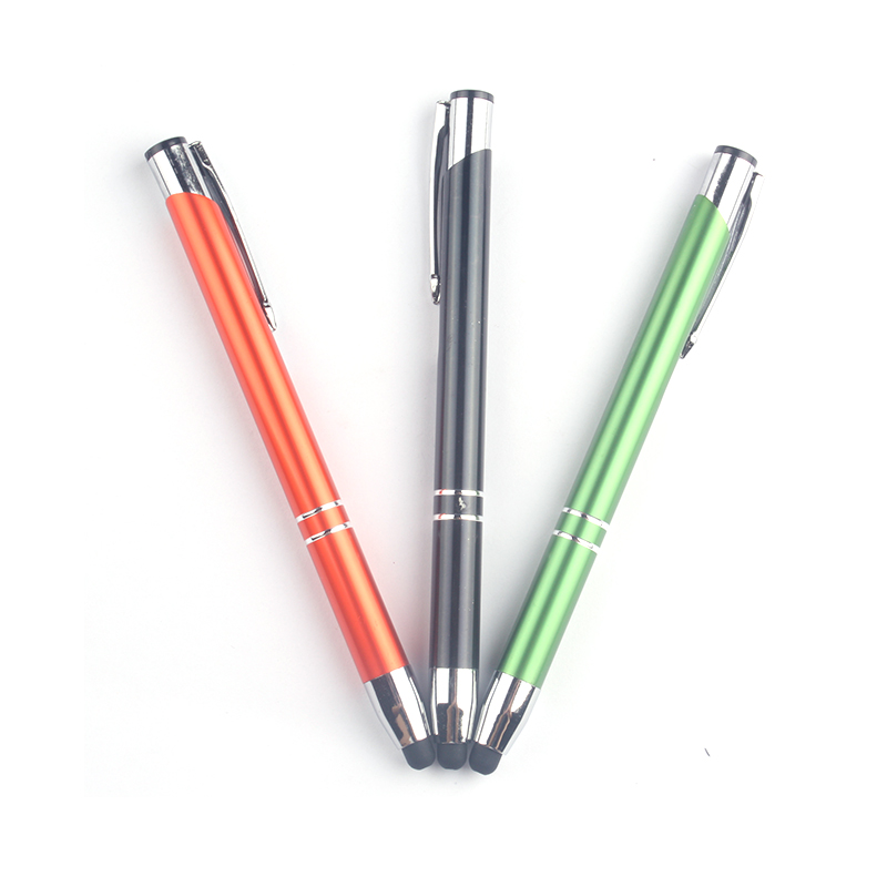 Xinghao brand hot selling screen touch stylus metal ballpoint pen with branded logo