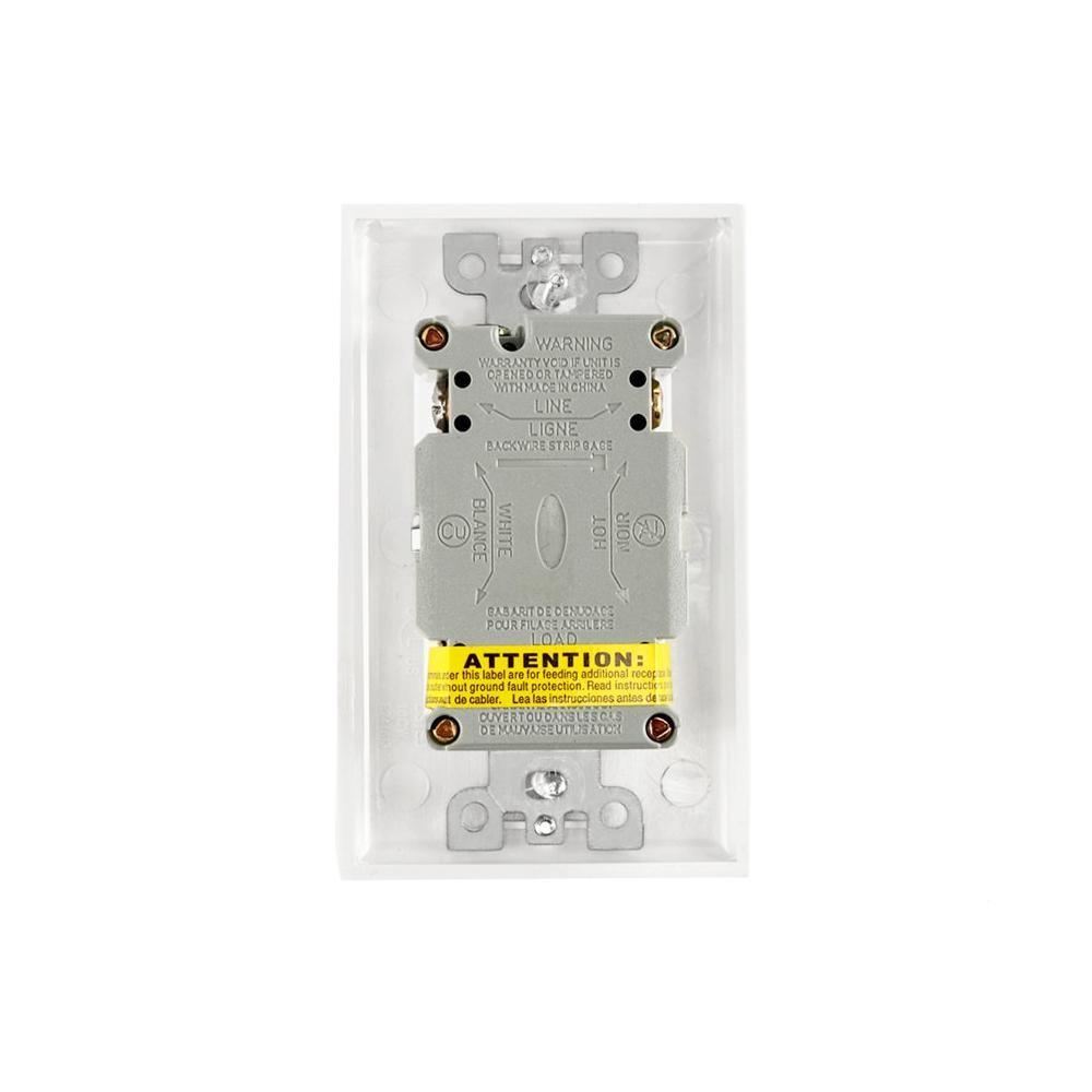 Hot Sales Receptacle 15a 125v Gfci American Socket