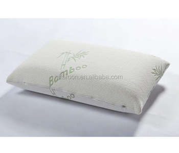 Luxury cutting good sleep memory foam bamboo pillow