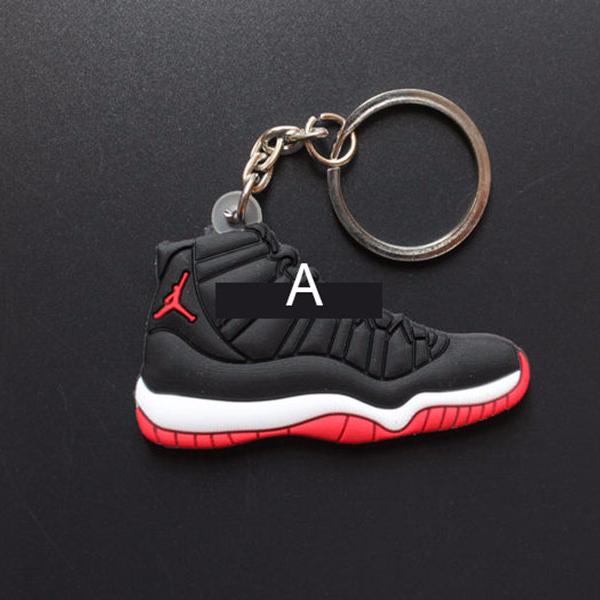low priced c8b5e c417e 2018 NEW full 20pcs Air Jordan Retro 11 XI Space Jam Sneaker keychains