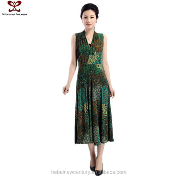 2016 New Style V Neck Bohemian Style Mother Of The Bride Dress