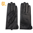 209 Man's Custom Car Driving Cashmere lined Sheepskin Lambskin leather Gloves Winter Warm