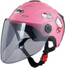 Motorcycle summer scooter half face helmet with customed decal