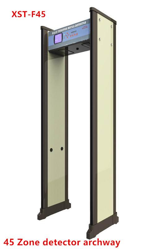 Airport Security Metal Scanner Archway Walk Through Metal Detector Door 45 Zones Detector Xst-f45 - Buy Metal Scanner ArchwayMetal Detector Door45 Zones ...  sc 1 st  Wholesale Alibaba & Airport Security Metal Scanner Archway Walk Through Metal Detector ...