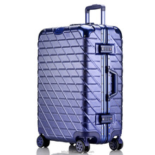 Wholesale Custom made Trolley Suitcase Fancy Luggage