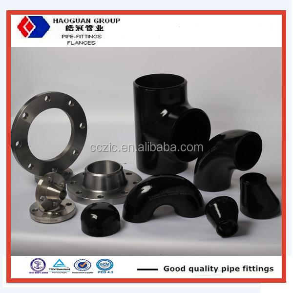 ANSI A234 STD SCH40 Wpb Black Gas Carbon Steel Butt Welded Pipe Fittings