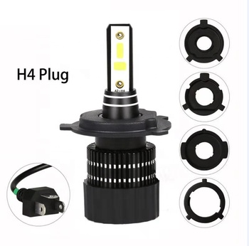 The newest motorbike LED head light motorcycle lamp DC 9V 80V reliable supply