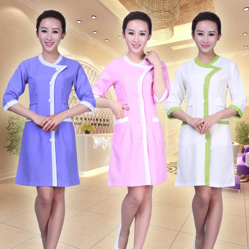 Seragam baju beli murah seragam baju lots from china for Baju uniform spa