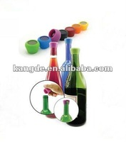 silicone cap shaped wine stopper