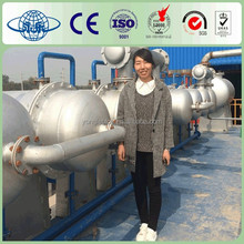 Newest Generation Used Plastic/Tyre to Diesel Oil Pyrolysis Machine for Sale