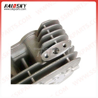 HAISSKY Motorcycle Parts Spare Cheap Price Pocket Bike Parts Head Cylinder