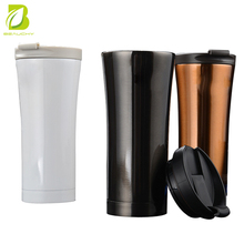 18/8 stainless steel metal double wall insulated vacuum thermos thermal car starbucks coffee mug enamel travel mug