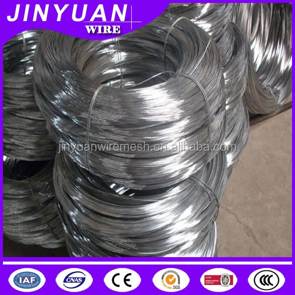 electro/hot-dip galvanized iron wire factory pric/low carbon steel wire galvanized from China used for binding wire or for fence