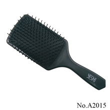 A2015 Black Big Size Plastic Massage comb hair straightener brush