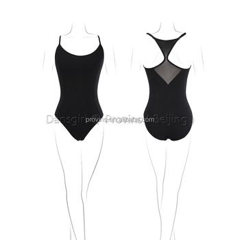 55ab8622226c Adjustable Straps Camisole Mesh Back Ballet Dance Leotards - Buy ...