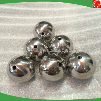 High Chrome Solid Threaded Drilled Stainless Steel Ball