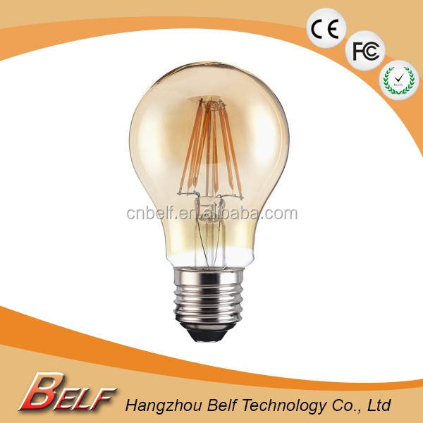 Best Seller E27 Led Filament Bulb Design Led Bulbs International Lighting A60