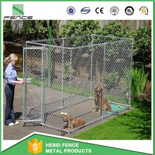 10x10x6 foot classic galvanized iron fence outdoor dog kennel/dog kennel fence