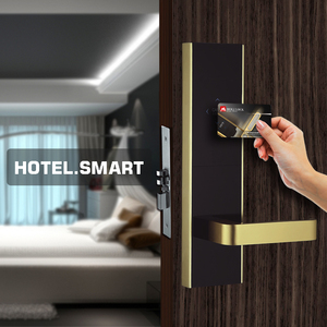 Moli contactless electronic rfid key card door lock using hotel door lock system