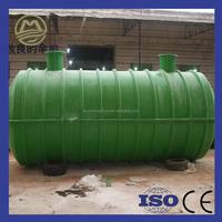 China Good Manufacturer Water Treatment Plant Plastic Septic Tank