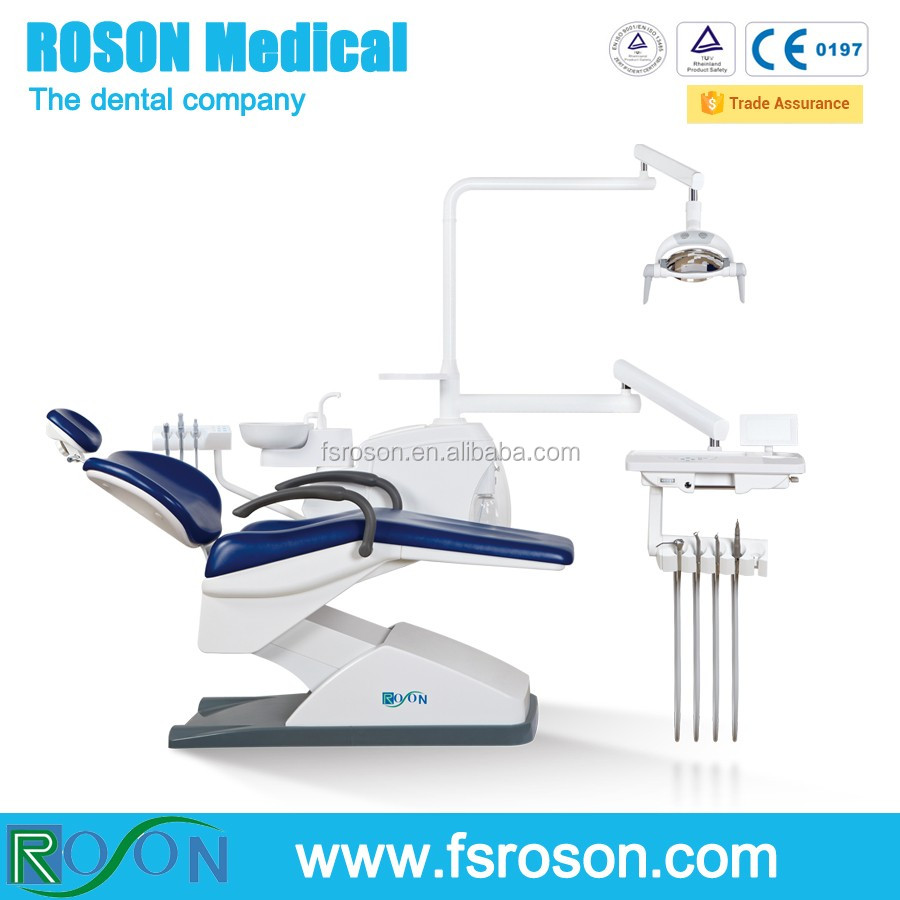 Parts of dental chair - 2016 Best Dental Unit With Led Operation Light Comfortable Dental Chair