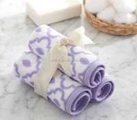 cheap 100% Cotton fabric compressed baby wash cloth for gifts