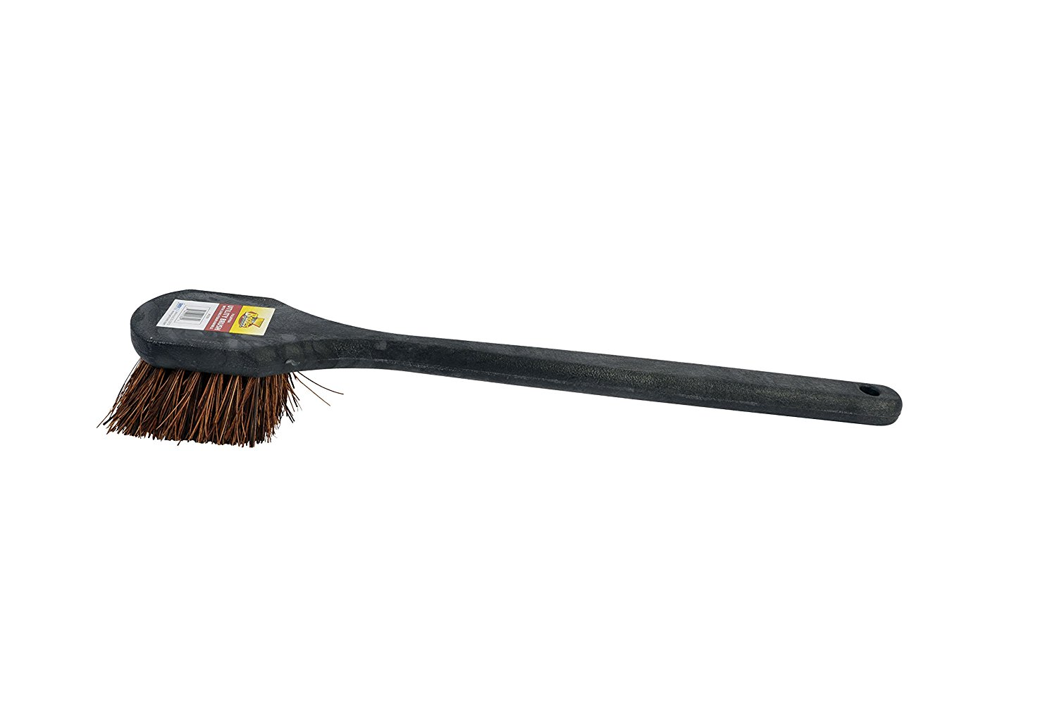 Janico 4209 Bristles 20 Inch Utility Brush with Palmyra Bristles, Black