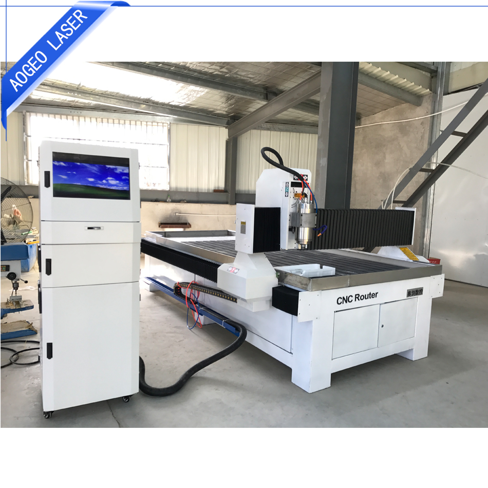 Professional supply 1500kg water cooling spindle wood CNC router machine