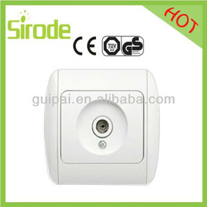 TV Socket Color TV Cable Crt Socket