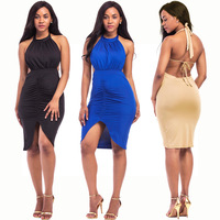 Sexy Dress Club Wear 2016 Women Vestidos Summer Sleeveless Bodycon Dres