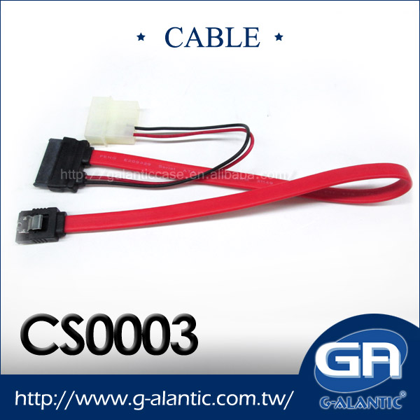 CS0003 - Computer Accessories SATA Cable 7+6 Pin Power Cable