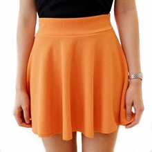 Kvalitní sukně volného střihu v pěkných barvách