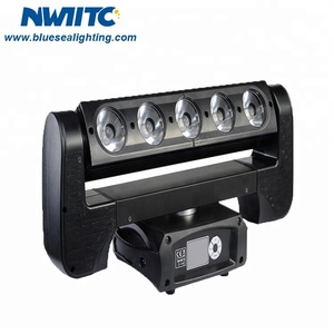 Newest 5x40w bar dj beam wash rgbw 4in1 pixel led moving head light