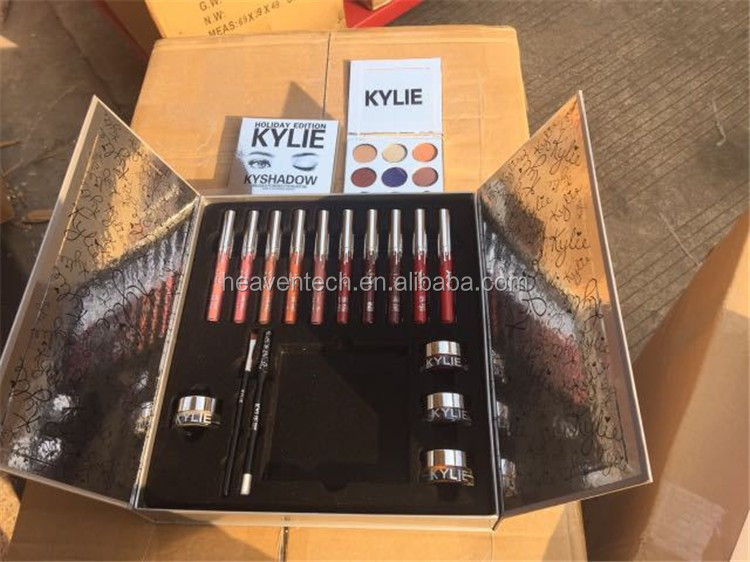 Kylie Jenner Lipstick Big Box Holiday Collection kylie holiday collection box kit