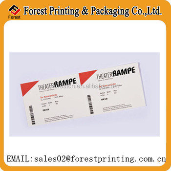 direct thermal paper concert ticket event ticket printing buy