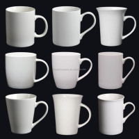 bulk buy liling ceramic factory 11oz white coffee mug