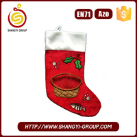 Colorful Various Patterns Ornament Gift Quilted Christmas Stocking