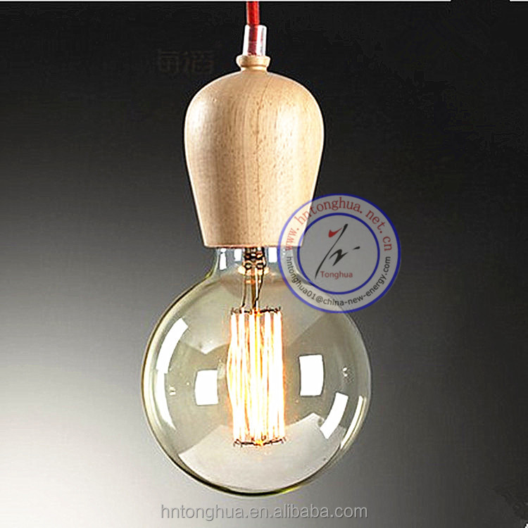 Edison antique lamp bulb Carbon filament lamp Spiral Squirrel Edison G80 CE ROHS SAA